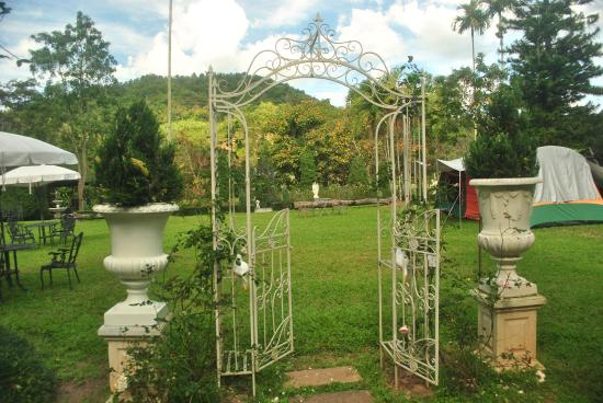 Canary Natural Resort: arch in the garden