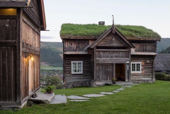 "Vagamo, Norvegia: ""Timber log building from 1779"" ph: Helge Eek"