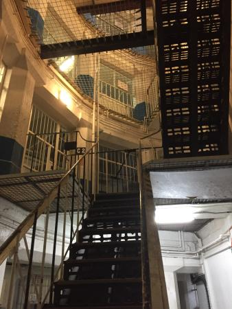 Lancaster Castle : Prison Stairs