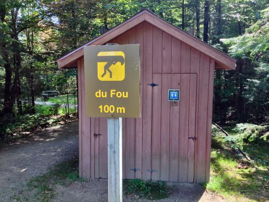 Saint-Mathieu-du-Parc, Канада: Lac du fou