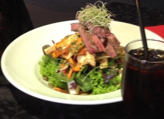 Woodend, Nueva Zelanda: Beef Salad