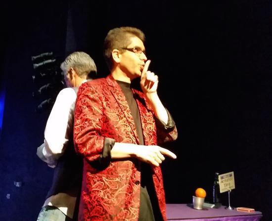 Armando Vera Magic Show: During the show...