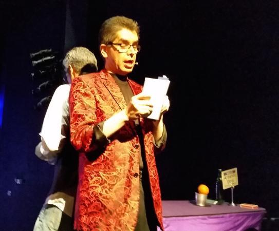 Armando Vera Magic Show: Show trick was great!