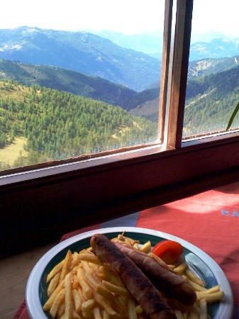 Bergrestaurant Kaiserburg: View from restaurant
