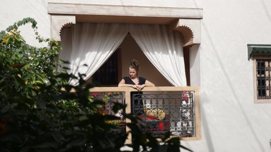 Sultan Suite S Private Balcony Overlooking Orange Trees Picture Of