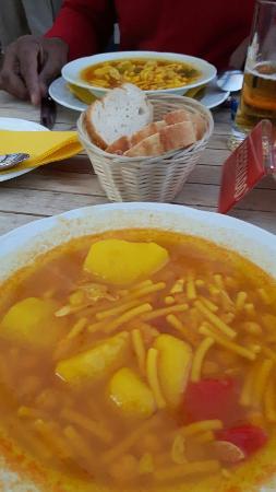 Mala, España: Cafeteria Cueva Paloma