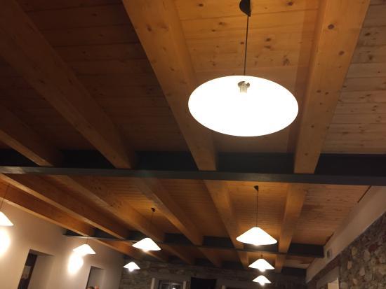 Traves, Italia: Il soffitto del salone nuovo