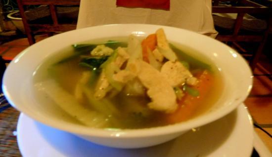 Brise de Kep: Soup