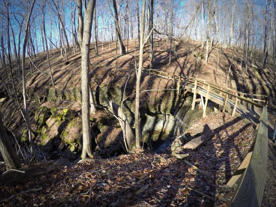 Clifty Falls State Park: Trail 7 bridge