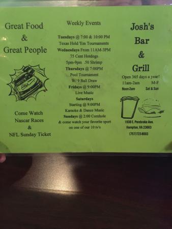 Josh's Bar & Grill