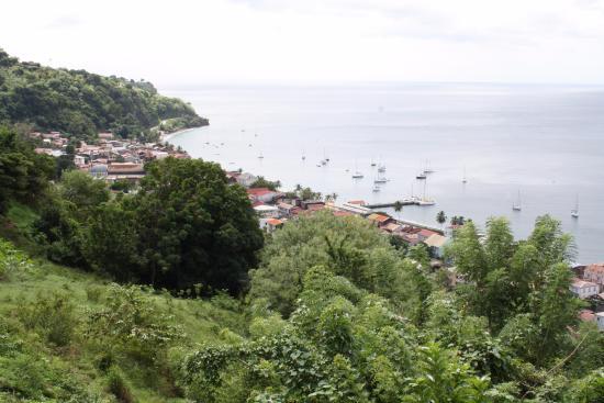 Le Fromager: La vue sur la Caraïbe depuis le restaurant