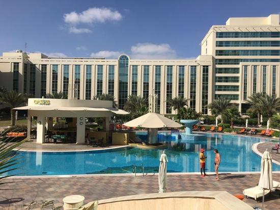Pool picture of millennium airport hotel dubai dubai - Dubai airport swimming pool price ...