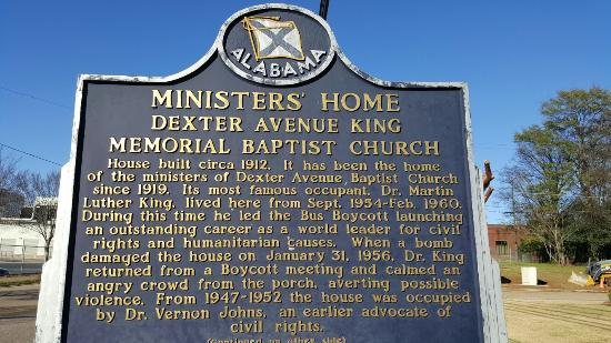 Dexter Parsonage Museum - Dr. Martin Luther King home: 20160116_143415_large.jpg
