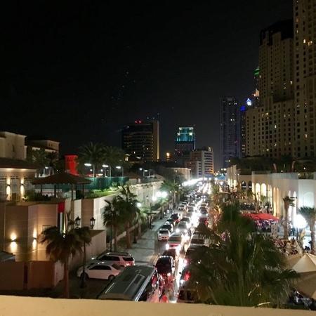 strip at night picture of suha hotel apartments by mondo dubai rh tripadvisor co za