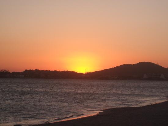 Iguaba Grande, RJ: Pôr do sol em Iguaba