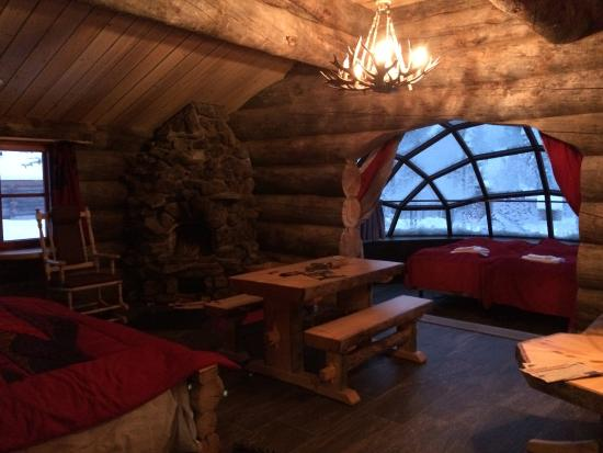 kelo glass igloo picture of kakslauttanen arctic resort saariselka tripadvisor. Black Bedroom Furniture Sets. Home Design Ideas