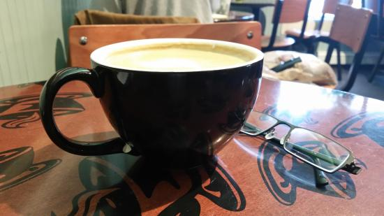 Dark Horse Coffee Co: They do things big in Alaska - another Dark Horse caffeine fix