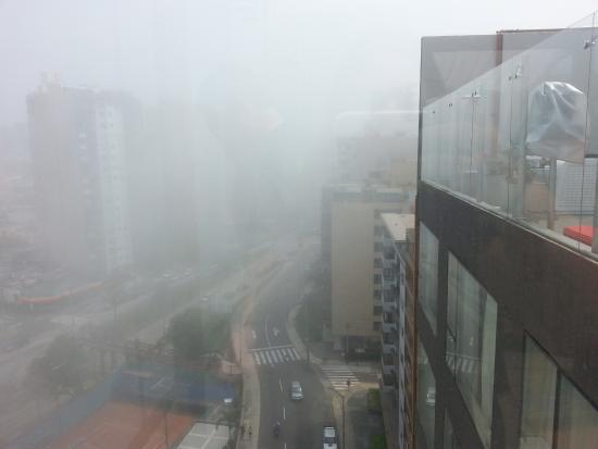 Radisson Hotel Decapolis Miraflores: Vista do terraço pela manhã