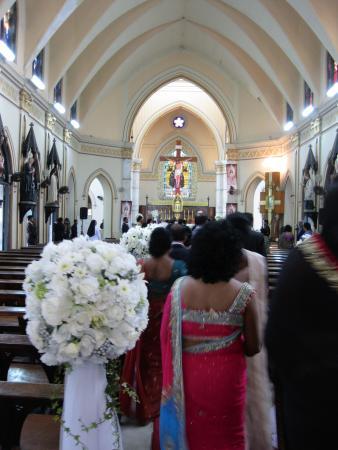 All Saints Church: Inside this beautiful church