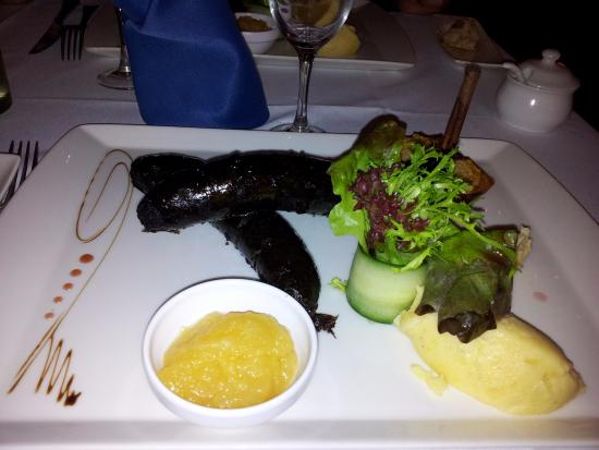 Brasserie du Kirchberg: Boudin noir