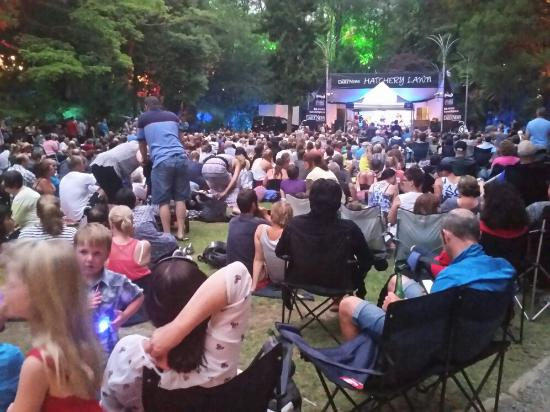 New Plymouth, New Zealand: Pukekura Park New Year's Eve 2015