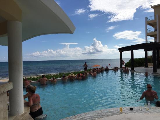 Bingo By The Swim Up Bar Preferred Club Pool Picture