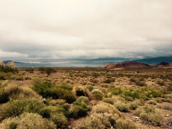 Nevada: 荒れ果てた土地の風情。