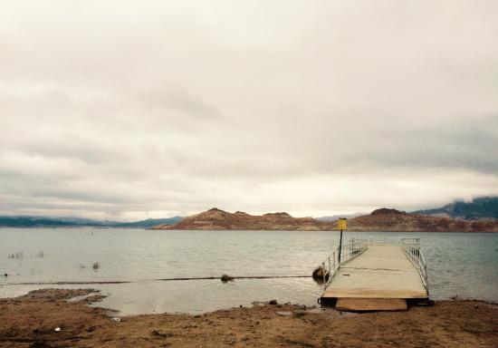 Nevada: 桟橋も、こんなかんじで、至って素っ気ない。