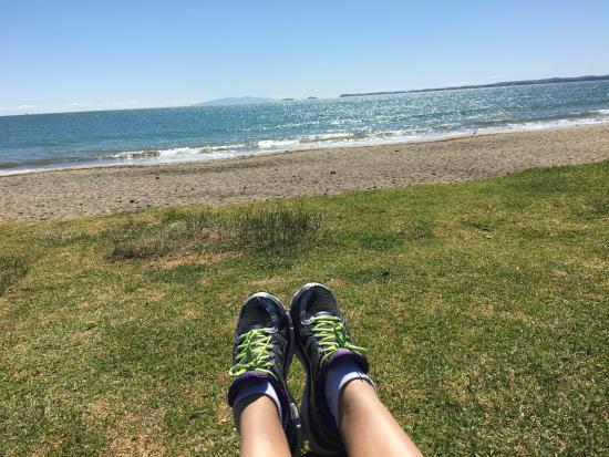 Murrays Bay, Neuseeland: beachfront Walk with an Endless view