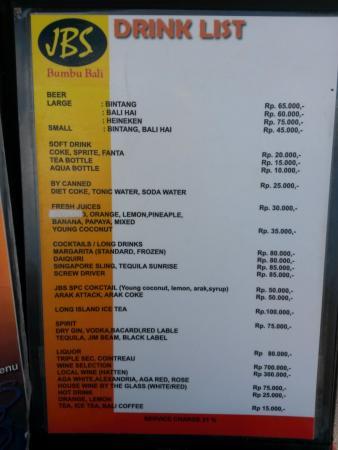 Jimbaran Bay Seafood - Jbs: JBS