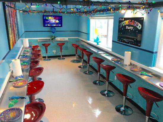 Long Beach, Вашингтон: We have remodeled our party room! Don't forget to book your party here. Please call (360)642-222