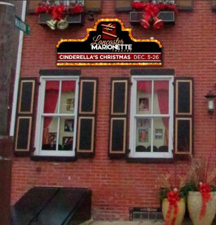 Lancaster Marionette Theatre : Mock up for our new sign.