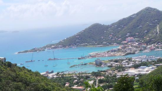 Ridge Road: A harbour on Tortola