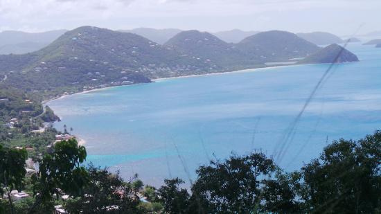 Ridge Road: Tortola View