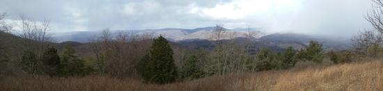 McDowell, VA: View North