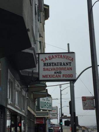 La Santaneca Restaurant San Francisco Ca