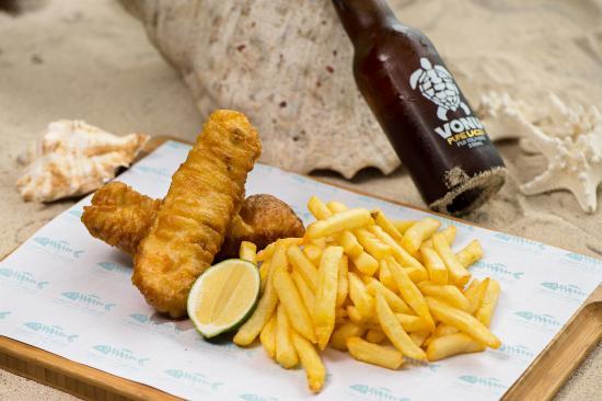 Radisson Blu Resort Fiji Denarau Island: Neptunes Best Fish & Chips on Denarau