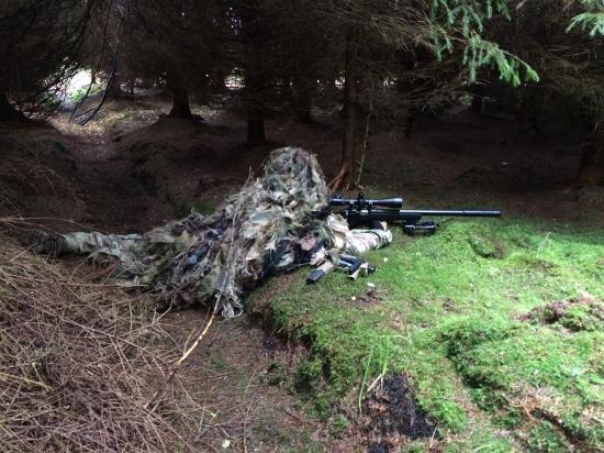 Achonry, Irland: Sniper