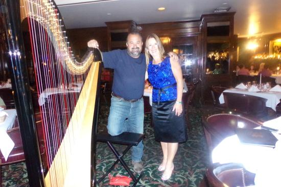 Jim's Steakhouse : Deb with Frank Fritz