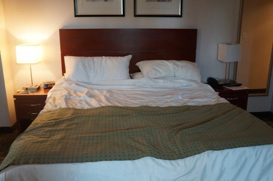 Holiday Inn L.I. City - Manhattan View: cama confortável