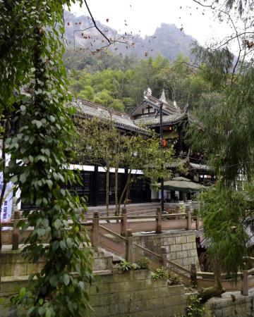 Mount Qingcheng: Trails-most paved and porters are available