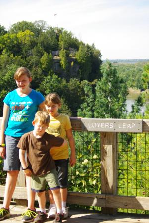 Starved Rock State Park: You could see forever from Starved Rock