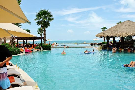 Secrets Playa Golf Spa Resort Pool And Swim Up Bar