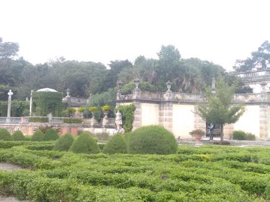 Vista aérea do Vizcaya Museum and Gardens - Picture of Vizcaya ...