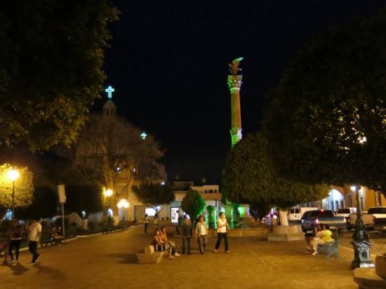 Union de San Antonio, المكسيك: Este es el jardín del pueblo, a muchas personas les gusta mucho