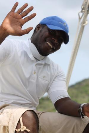 Blue Water Safaris: Members of our friendly crew