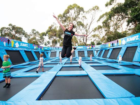 JUMPZ Outdoor Trampolines