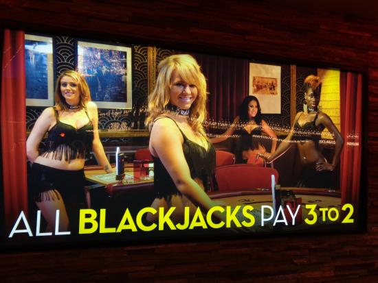 Blackjack dancer