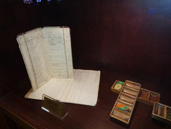 casino log book
