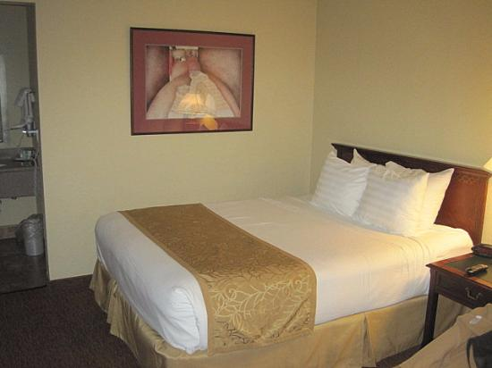 Ruidoso Downs, NM: comfortable bed
